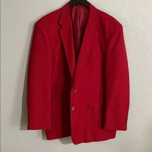 Other - Men's Red Suit Jacket